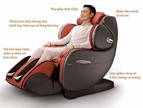 Ghế massage có thực sự hiệu quả trong việc cải thiện sức khỏe